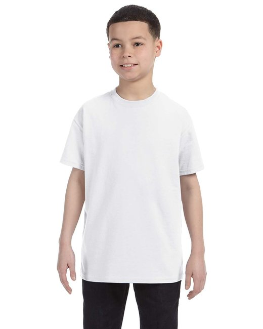 Jerzees [29B] Youth  5.6 oz., 50/50 Heavyweight Blend T-Shirt
