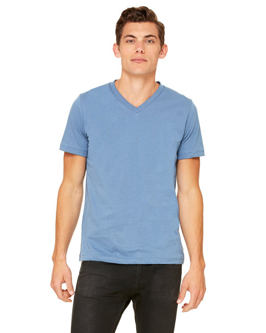 Canvas [3005] Unisex 4.2 oz. V-Neck Jersey T-Shirt