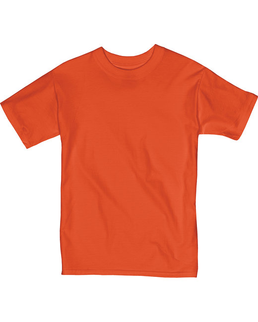 Hanes T Shirt 5380 Youth 6.1 oz. Beefy-T - Small - ORANGE at Sears.com