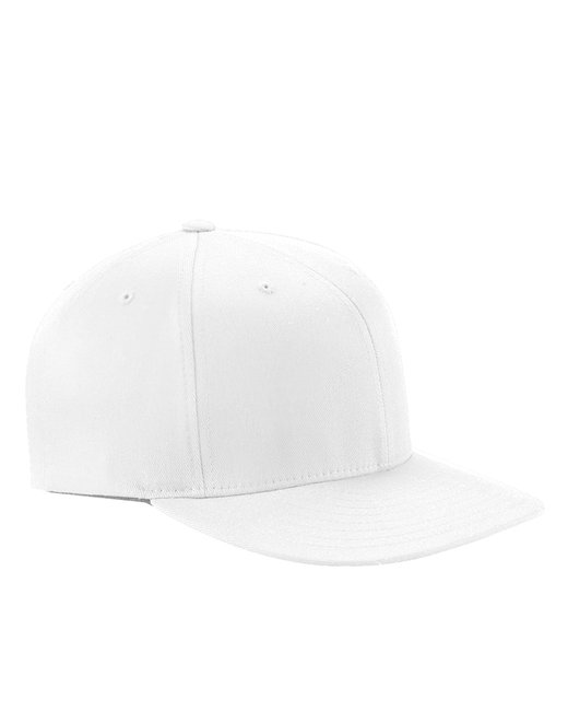 Yupoong [6297F] Flexfit® Wooly Twill Pro Baseball On-Field Shape Cap with Flat Bill