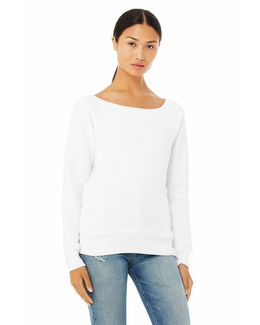 Bella [7501] Ladies'  8.2 oz. Triblend Slouchy Wide Neck Fleece