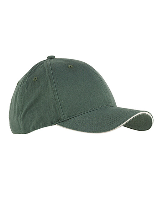 Big Accessories [BX004] 6-Panel Twill Sandwich Baseball Cap
