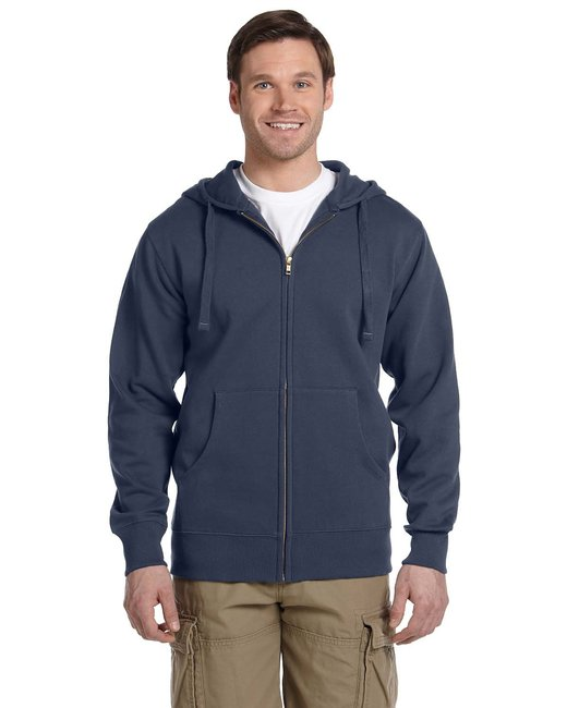 econscious [EC5650] Men's  9 oz. Organic/Recycled Full-Zip Hood