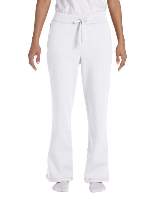 Gildan [G184FL] Ladies'  7.75 oz. Heavy Blend™ 50/50 Open-Bottom Sweatpants