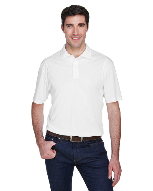 Harriton [M354] Men's  Micro-Piqué Polo
