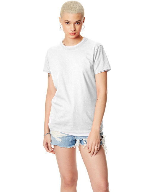 Hanes [SL04] Ladies'  4.5 oz., 100% Ringspun Cotton nano-T® T-Shirt