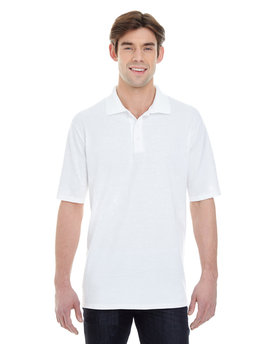 055P Hanes Men's X-Temp Piqué Short-Sleeve Polo with Fresh IQ