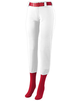 1240 Augusta Drop Ship Ladies' Low Rise Homerun Pant