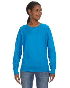 3762 LAT Ladies' Slouchy French Terry Pullover