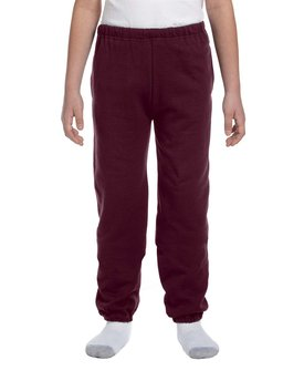 4950BP Jerzees Youth 9.5 oz., Super Sweats® NuBlend® Fleece Pocketed Sweatpants