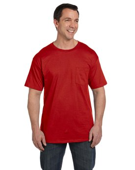 5190P Hanes 6.1 oz. Beefy-T® with Pocket