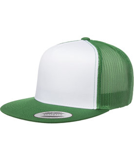 6006W Flexfit Classic Two Tone Trucker Cap