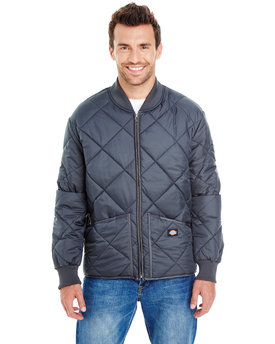 61242 Dickies Men's 6 oz. Diamond Quilt Jacket