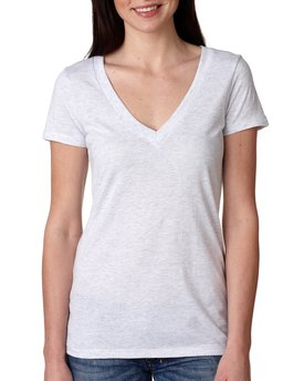 6740 Next Level Ladies' Triblend Deep V