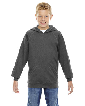 68164 Ash City - North End Youth Pivot Performance Fleece Hoodie