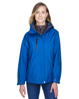 78178 Ash City - North End Ladies' Caprice 3-in-1 Jacket with Soft Shell Liner