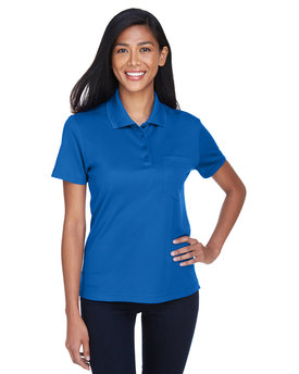 78181P Ash City - Core 365 Ladies' Origin Performance Piqué Polo with Pocket