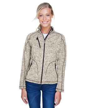 78669 Ash City - North End Sport Red Ladies' Peak Sweater Fleece Jacket