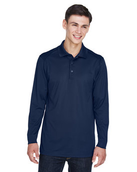 85111T Ash City - Extreme Men's Tall Eperformance™ Snag Protection Long-Sleeve Polo