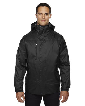 88120 Ash City - North End Adult Performance 3-in-1 Seam-Sealed Hooded Jacket