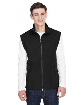 88127 Ash City - North End Men's Three-Layer Light Bonded Performance Soft Shell Vest