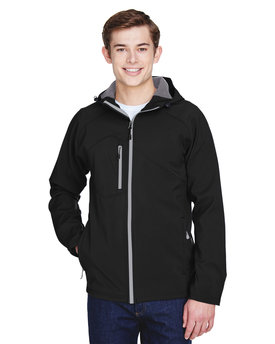 88166 Ash City - North End Men's Prospect Two-Layer Fleece Bonded Soft Shell Hooded Jacket