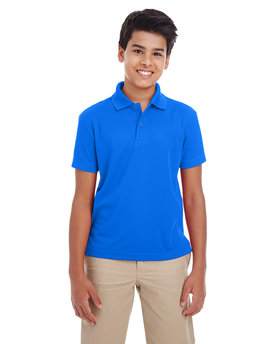 88181Y Ash City - Core 365 Youth Origin Performance Pique Polo