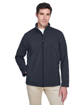 88184 Ash City - Core 365 Men's Cruise Two-Layer Fleece Bonded Soft Shell Jacket