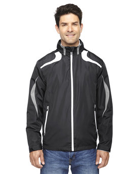 88644 Ash City - North End Sport Red Men's Impact Active Lite Colorblock Jacket