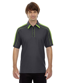 88648 Ash City - North End Sport Red Men's Sonic Performance Polyester Piqué Polo