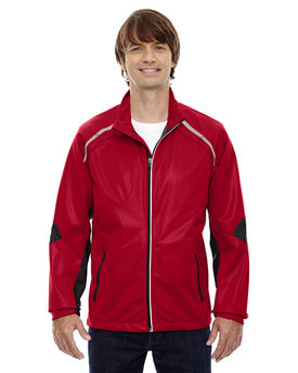 88654 Ash City - North End Sport Red Men's Dynamo Three-Layer Lightweight Bonded Performance Hybrid Jacket