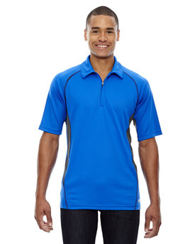 88657 Ash City - North End Sport Red Men's Serac UTK cool?logik™ Performance Zippered Polo