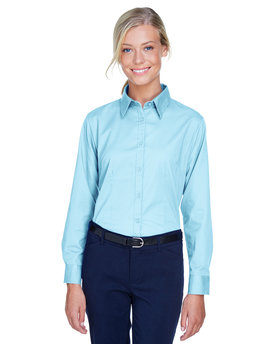 8976 UltraClub Ladies' Whisper Twill