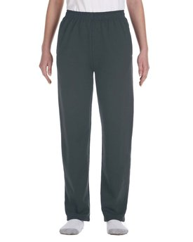 974Y Jerzees Youth 8 oz. NuBlend® Open-Bottom Fleece Sweatpants