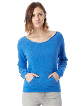 AA9582 Alternative Ladies' Maniac Eco-Fleece Solid Sweatshirt