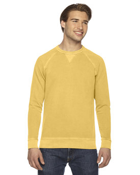AP205 Authentic Pigment Men's French Terry Crew
