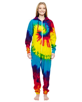 CD892 Tie-Dye Adult All-In-One Loungewear