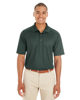 CE102 Ash City - Core 365 Men's Express Microstripe Performance Piqué Polo