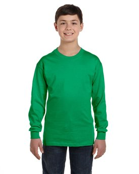 G540B Gildan Youth 5.3 oz. Long-Sleeve T-Shirt