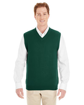 M415 Harriton Men's Pilbloc™ V-Neck Sweater Vest