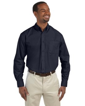 M510T Harriton Men's Tall 3.1 oz. Essential Poplin