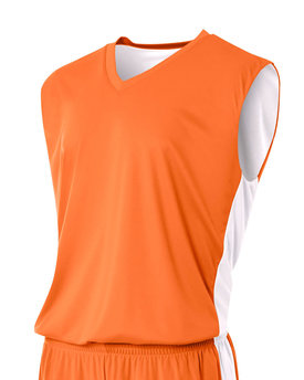 N2320 A4 Drop Ship Adult Reversible Moisture Management Muscle Shirt