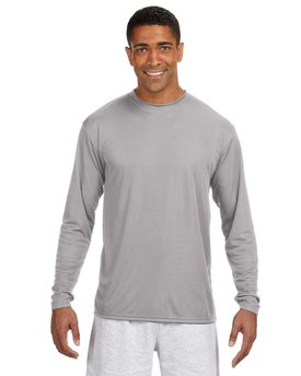 N3165 A4 Men's Long-Sleeve Cooling Performance Crew