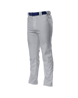 N6162 A4 Drop Ship Pro Style Open Bottom Baggy Cut Baseball Pants