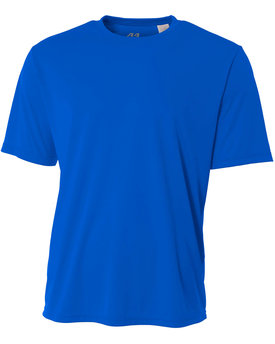 NB3142 A4 Youth Short-Sleeve Cooling Performance Crew