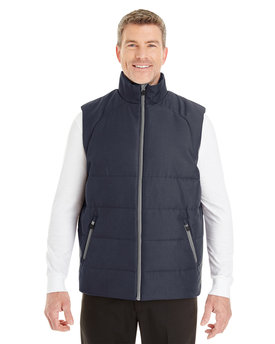 NE702 Ash City - North End Men's Engage Interactive Insulated Vest