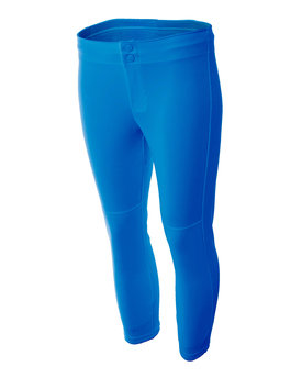 NW6166 A4 Drop Ship Ladies' Softball Pants
