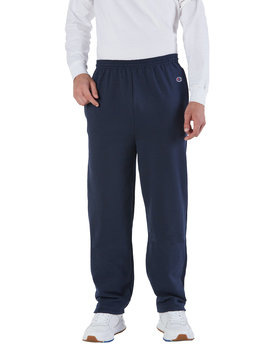 P800 Champion 9 oz. Double Dry Eco® Open-Bottom Fleece Pant with Pockets
