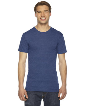 TR401 American Apparel Unisex Triblend Short-Sleeve Track T-Shirt